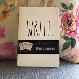 NEW Rae Dunn 3 Pack Notebooks